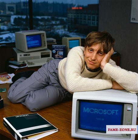 Фотография Билл Гейтс ( Уильям Генри Гейтс III). Bill Gates  (William Henry Gates III)