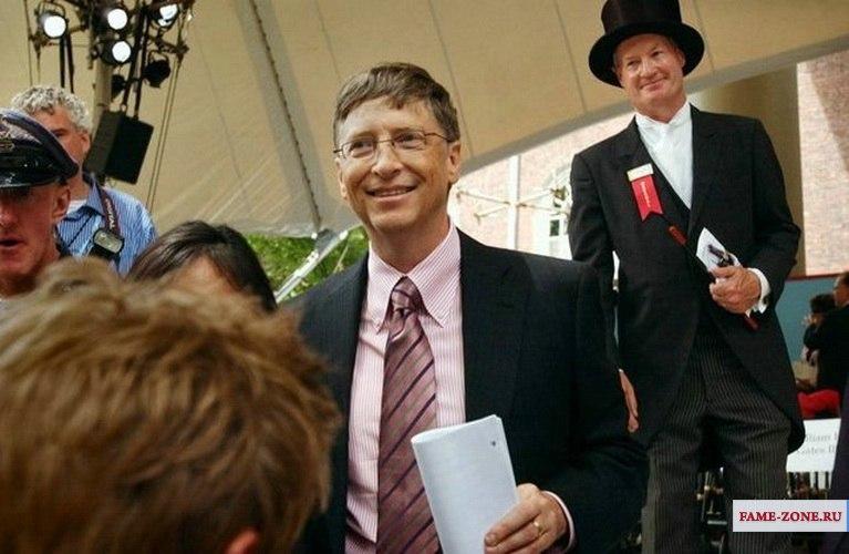 Фотография Билл Гейтс ( Уильям Генри Гейтс III). Bill Gates  (William Henry Gates III)
