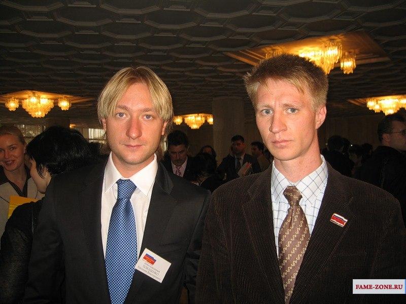 Фотография Евгений Плющенко.